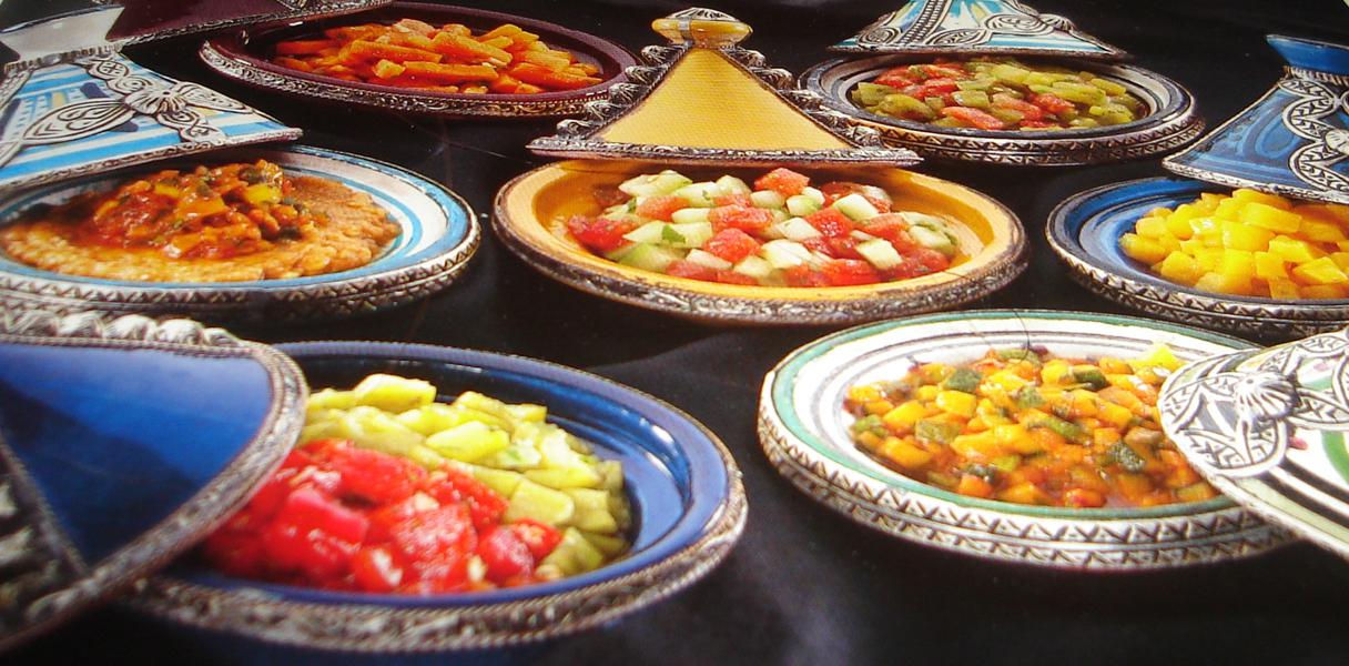 Petites salades marocaines, faciles et savoureuses 8563