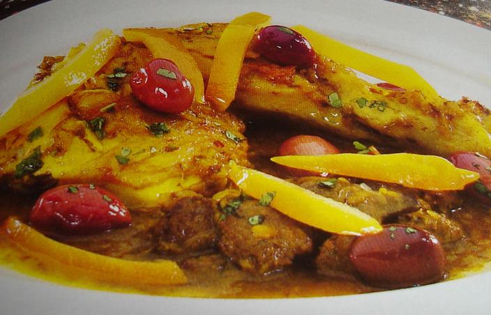 Tajine de poulet au citron confit et olives rouges 19juillet200721